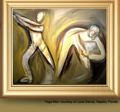 Yoga Men courtesy of Louis Salvati, Naples, Florida